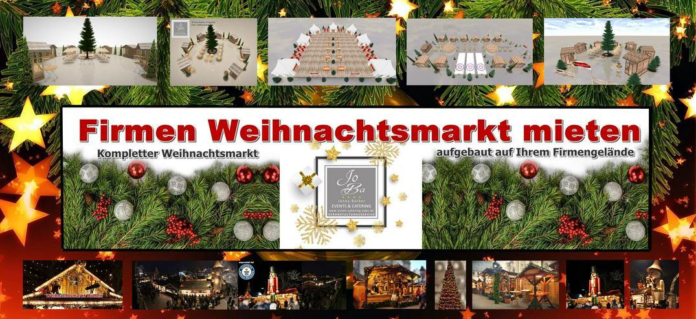 Bild 3: Mobiler Firmen Weihnachtsmarkt mieten - Weihnachtsfeier Ideen - Weihnachtshütten - Catering - Eventausstattung - Riesen Nussknacker - Riesen Räuchermann