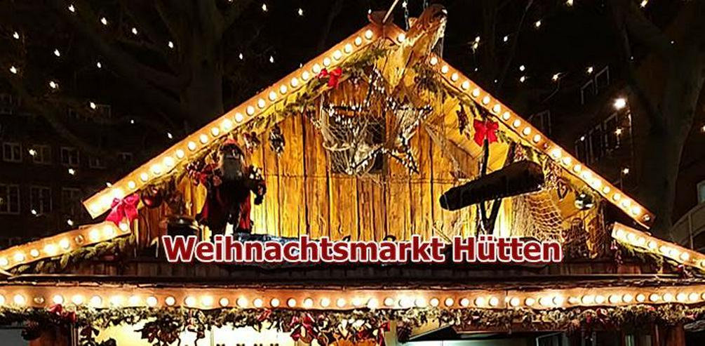 Bild 2: Mobiler Firmen Weihnachtsmarkt mieten - Weihnachtsfeier Ideen - Weihnachtshütten - Catering - Eventausstattung - Riesen Nussknacker - Riesen Räuchermann