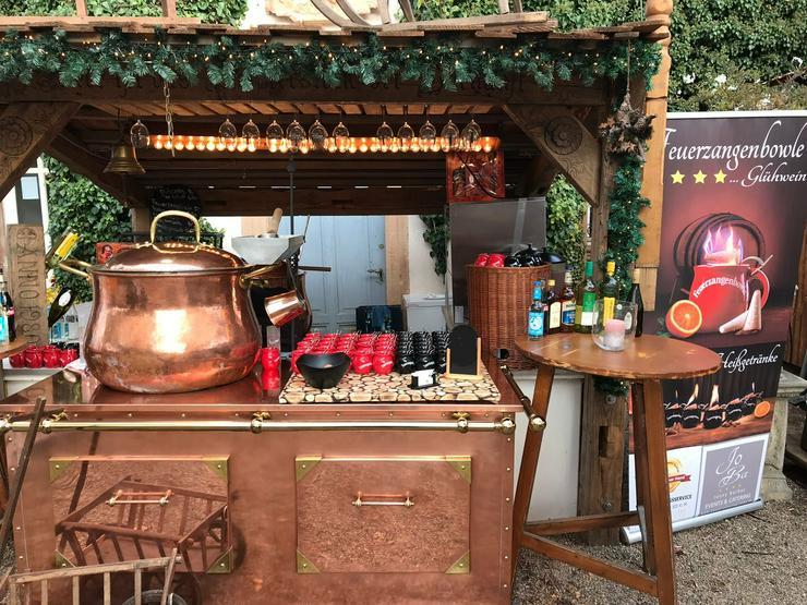 Bild 5: Mobiler Firmen Weihnachtsmarkt mieten - Weihnachtsfeier Ideen - Weihnachtshütten - Catering - Eventausstattung - Riesen Nussknacker - Riesen Räuchermann