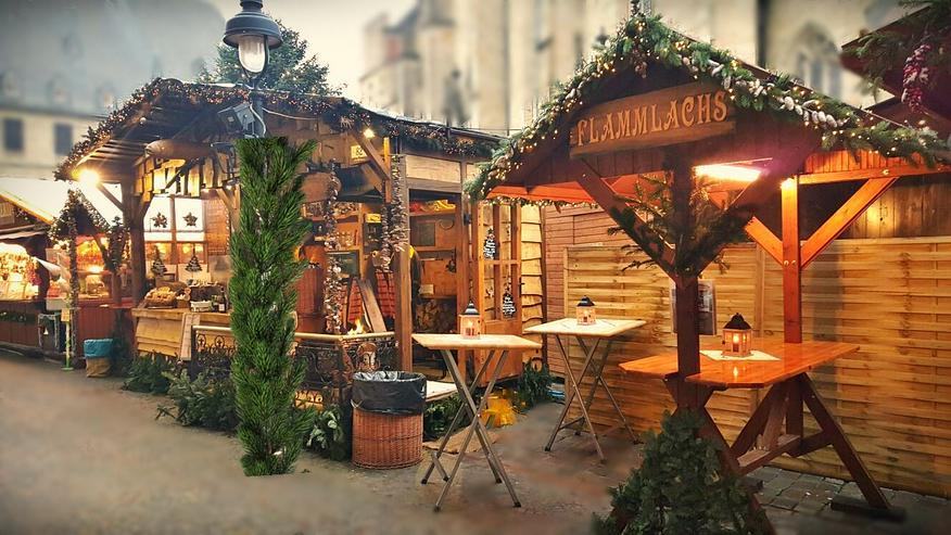 Bild 10: Mobiler Firmen Weihnachtsmarkt mieten - Weihnachtsfeier Ideen - Weihnachtshütten - Catering - Eventausstattung - Riesen Nussknacker - Riesen Räuchermann