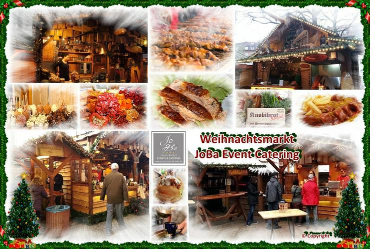 Bild 7: Mobiler Firmen Weihnachtsmarkt mieten - Weihnachtsfeier Ideen - Weihnachtshütten - Catering - Eventausstattung - Riesen Nussknacker - Riesen Räuchermann