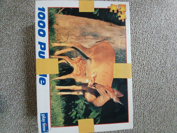 Puzzle 1000 und 1500 Teile