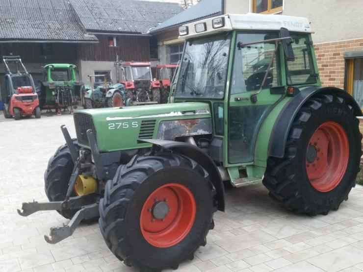 Fendt 275 S FHY FZW, 40 Kmh Halogen Traktor