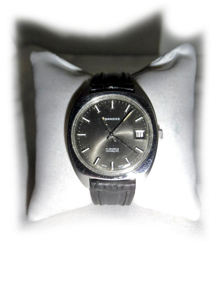 Seltene Armbanduhr von Sandoz - Herren Armbanduhren - Bild 1