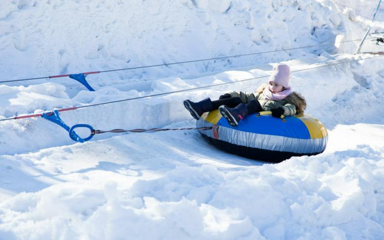 Bild 2: Der Skilift POLGLOB 2P - 100m TUV und TDT Zertifikat