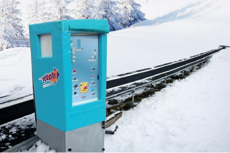 Der SKI CONVEYOR MK1 Skiförderband - 30m TUV Zertifikat