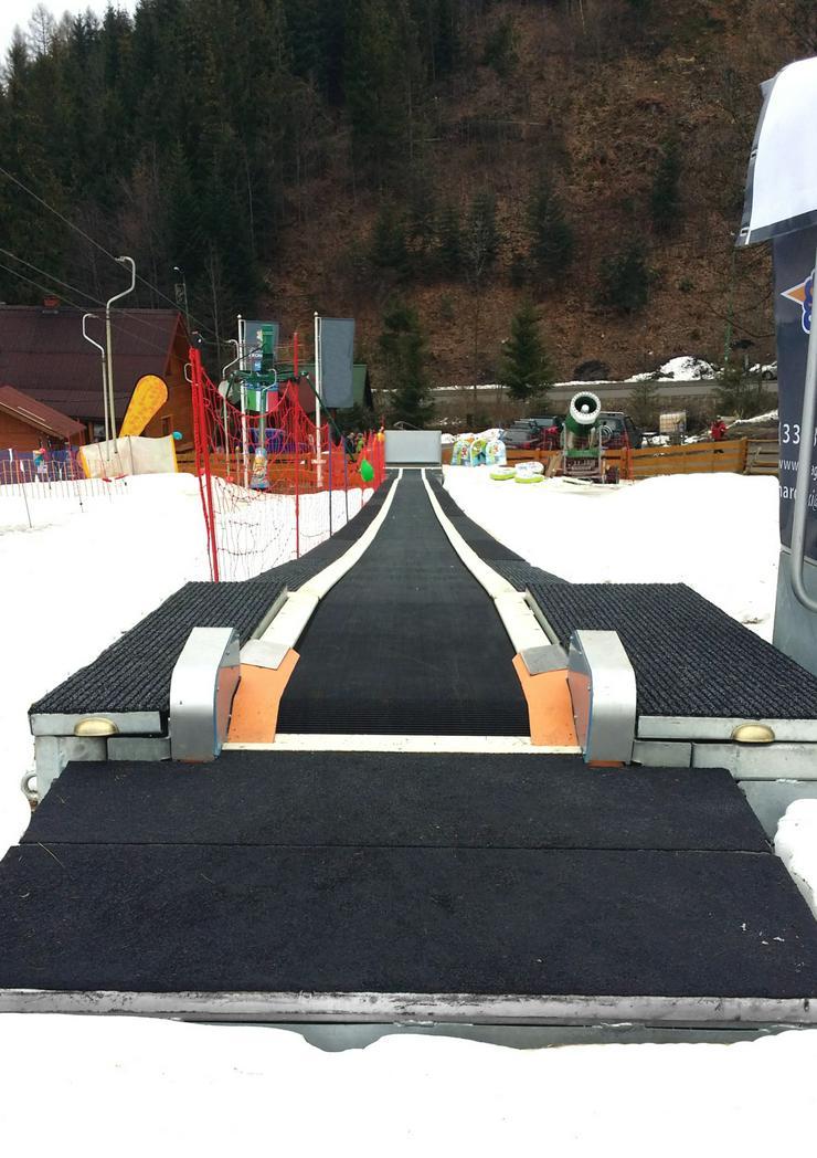 Bild 2: Der SKI CONVEYOR MK1 Skiförderband - 30m TUV Zertifikat