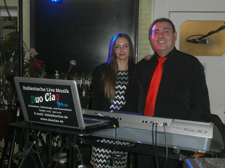 Italienische Deutsch Hochzeit Geburtstag Veranstaltung Noi-Duo Ciao Band MUSIK LIVE