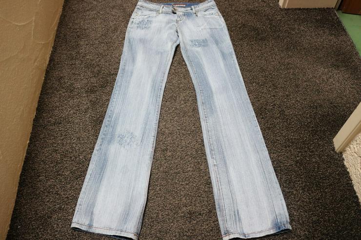 Jeans, Gr. 42, Ripped-Effekte