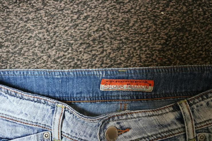 Bild 3: Jeans, Gr. 42, Ripped-Effekte