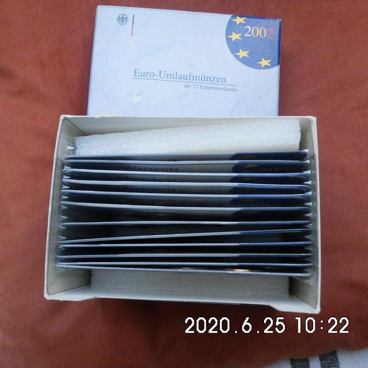 12 Euro Kursmünzensätze 2002