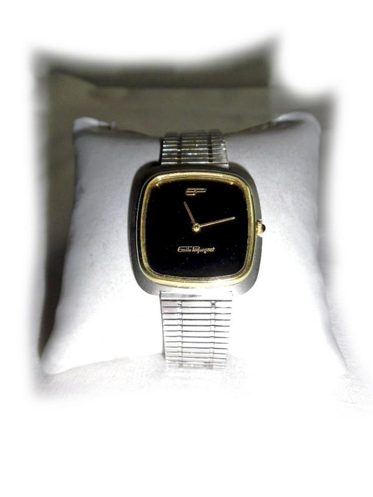 Seltene Armbanduhr von Emile Pequignet