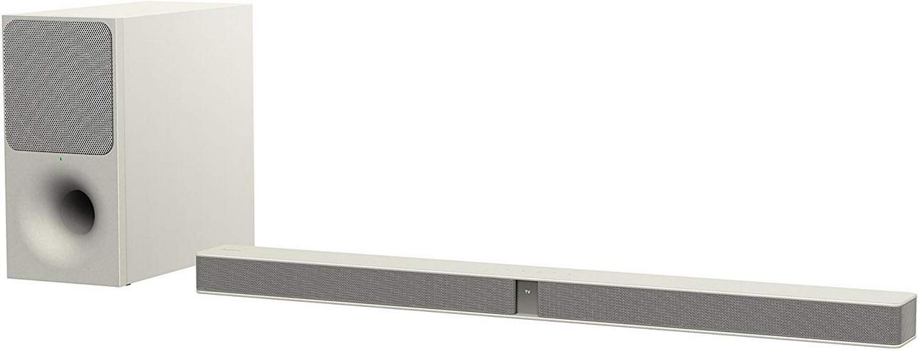 Sony HT-CT291 Soundbar mit kabellosem Subwoofer, cremeweiß