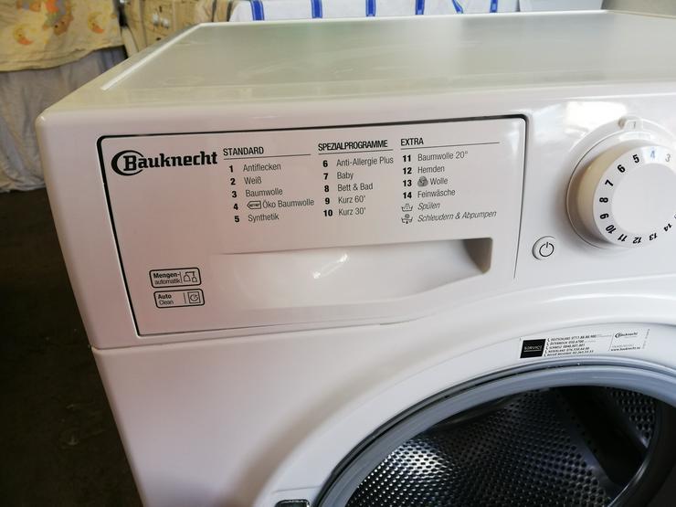 Bild 3: Bauknecht 7 Kg Waschmaschine mit  A+++