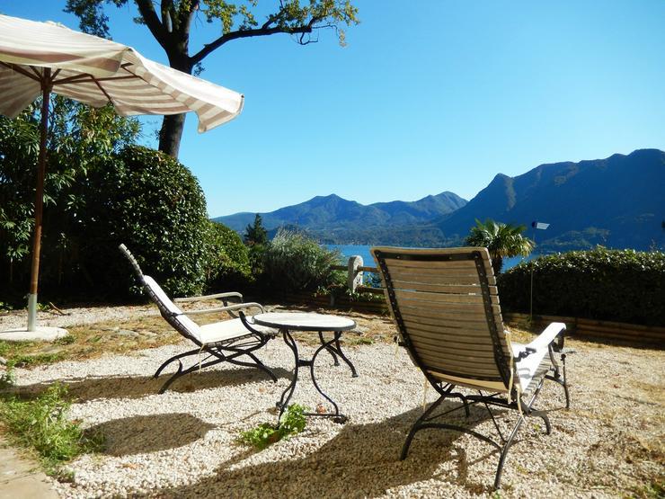 Bild 6: Wunderschöne Ferienwohnung mit traumhaften Blick auf Lago Maggiore, nahe Schweizer Grenze