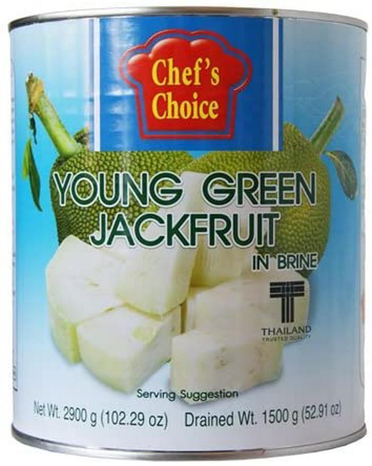 Jackfrucht Wasser fleischersatz vegetarisch vegan grüne jackbaumfrucht a 2.9 kg = 9 euro