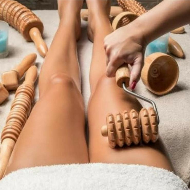 Bild 2: Madero Massage Therapie, Holzwalzen Massage