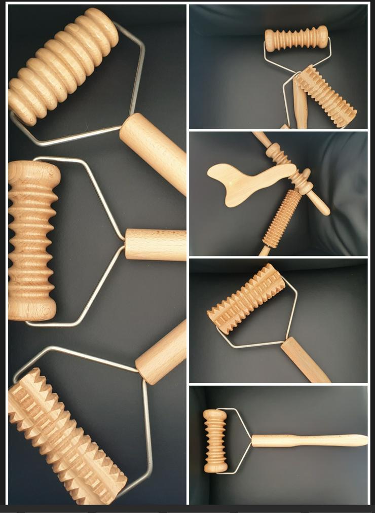 Madero Massage Therapie, Holzwalzen Massage  - Schönheit & Wohlbefinden - Bild 1