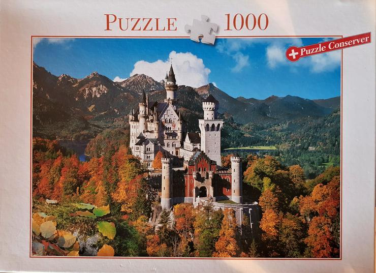 Schloss Neuschwanstein 1000 - Puzzles - Bild 1