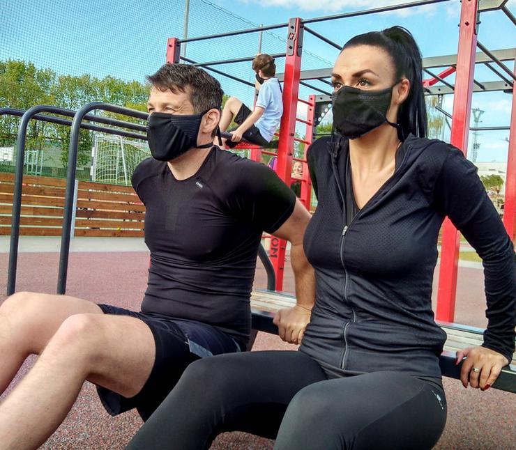 Bild 5: NEUE Work & Sport -Schutzmaske mit Silber-Ionen-Fasern