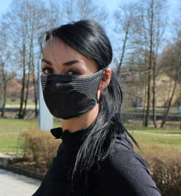NEUE Work & Sport -Schutzmaske mit Silber-Ionen-Fasern - Bekleidung & Helme - Bild 1