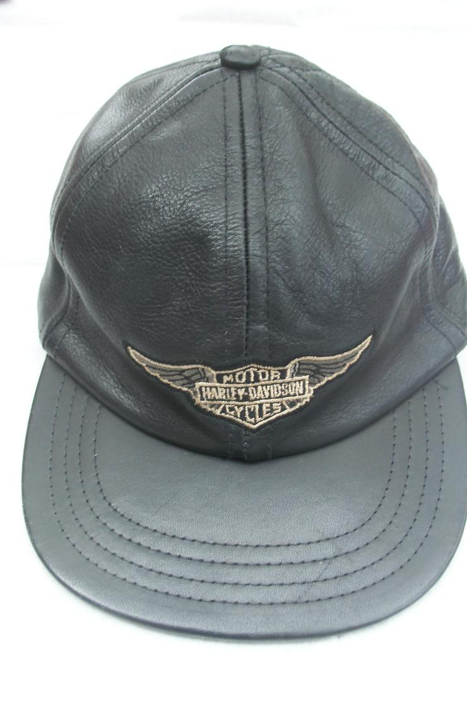 Original Lederkappe Harley Davidson - Kopfbedeckungen - Bild 1