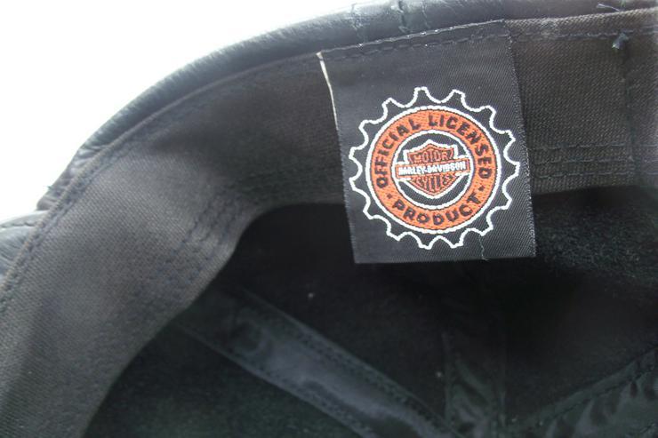 Bild 5: Original Lederkappe Harley Davidson