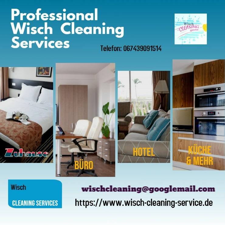 Reinigungskraft gesucht? Ein Anruf genügt