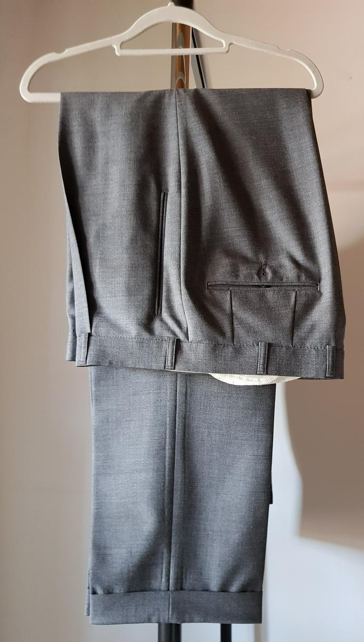 Bild 4: Herrenanzug Gr. 50 dunkelgrau mit zwei Hosen