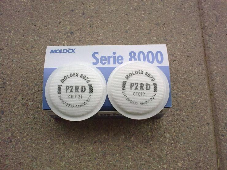 Moldex P2RD Partikelfilter, 2 Stück, neu