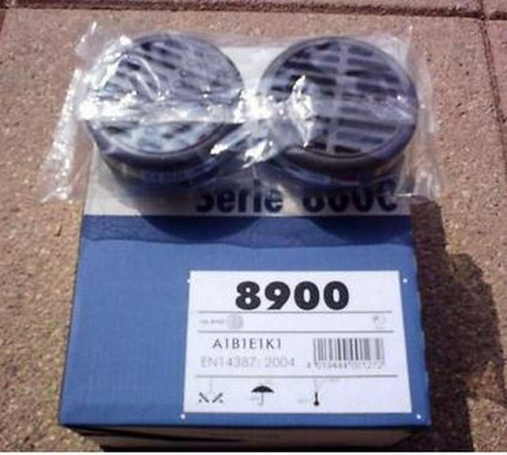 Moldex 8900 A1B1E1K1 Gasfilter 2 Stück, neu, Haltbar bis 2025