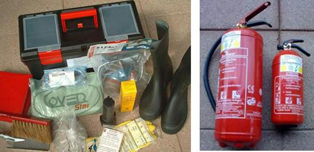 Gefahrgutkoffer Gefahrgutausrüstung nach GGVSE/ADR mit 2 Feuerlöschern, neu