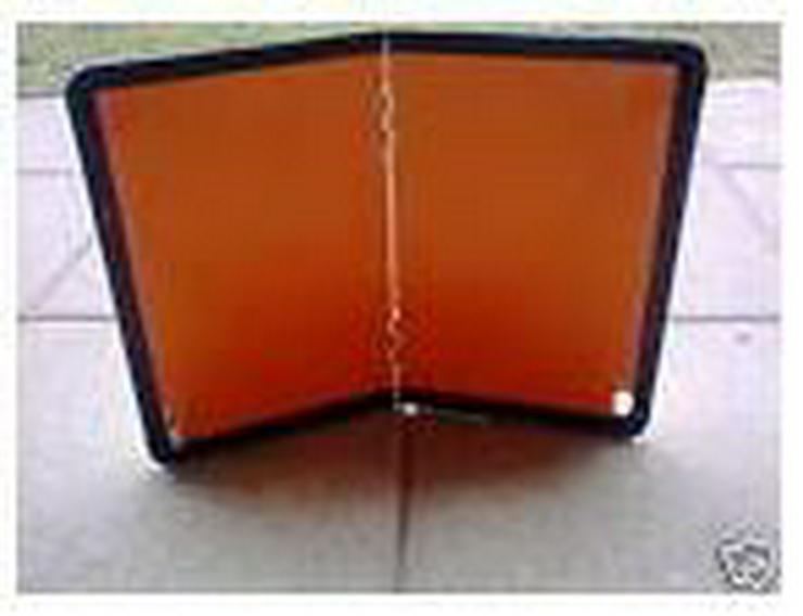 Bild 5: Gefahrgutkoffer nach GGVSE/ADR mit 2 Gefahrguttafeln, 2 Warnblink Leuchten, neu