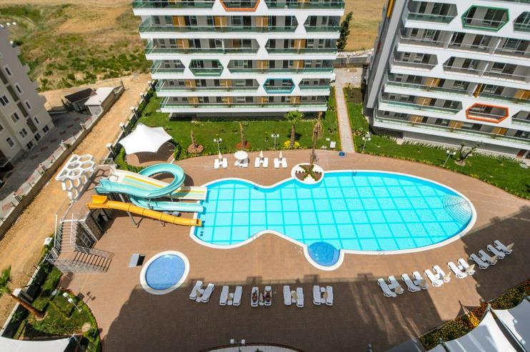 Türkei, Alanya. möblierte 2 Zi. Miet- Wohnung in Avsallar. 350