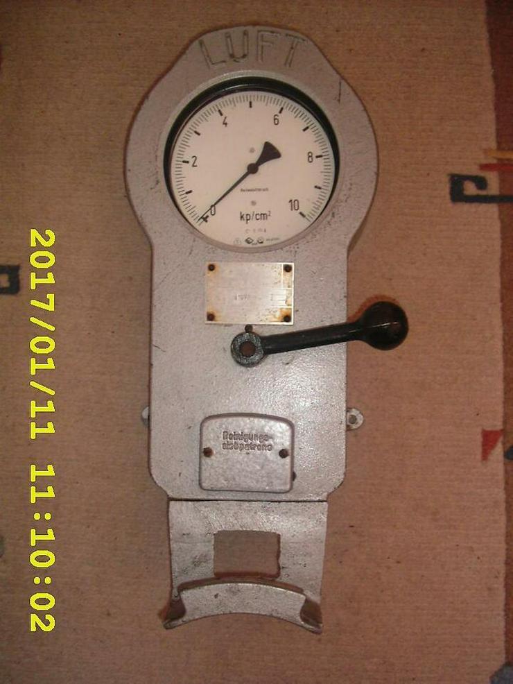 DDR Luftprüfer Reifendruckprüfer Reifendruckmesser Luftdruckprüfer Oldtimer Minol