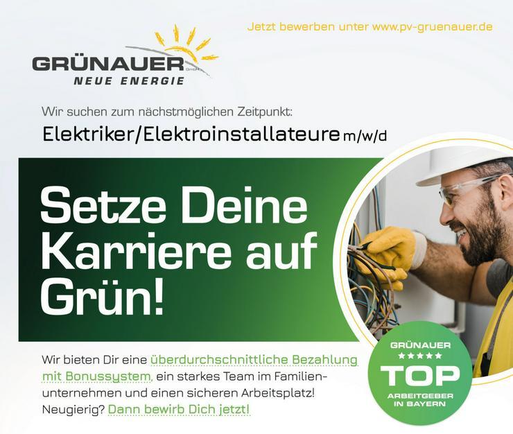 Elektriker/Elektroinstallateure m/w/d
