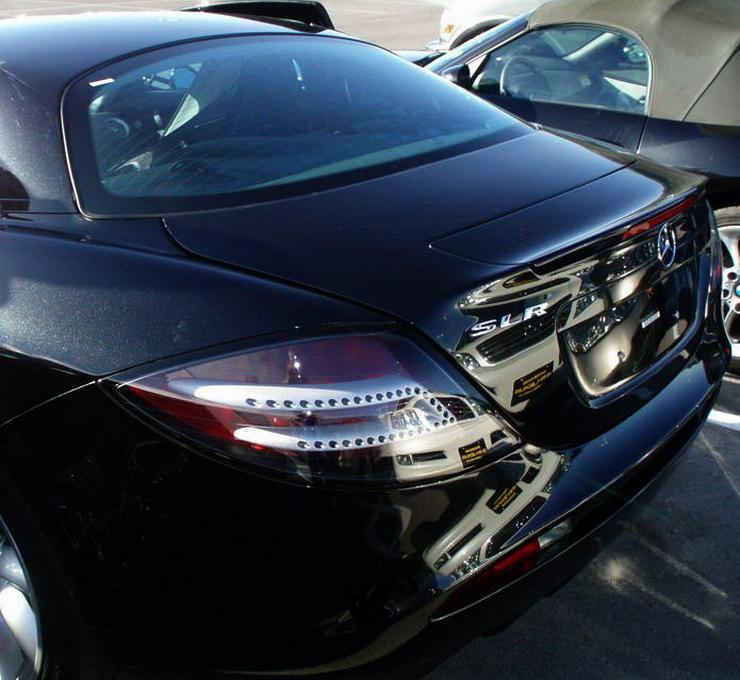 Bild 3: SLR Mercedes Unfallwagen!