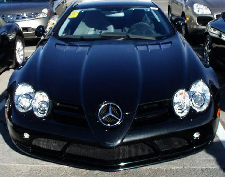 SLR Mercedes Unfallwagen!