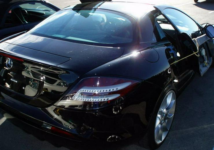 Bild 4: SLR Mercedes Unfallwagen!