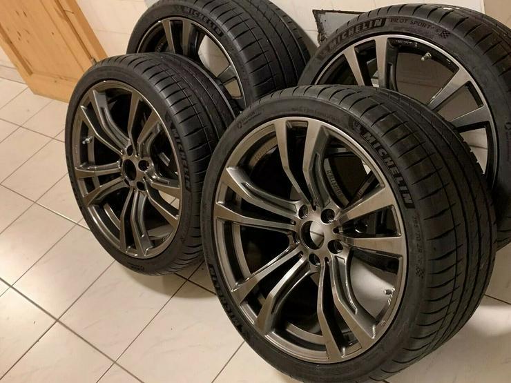 Kompletträder BMW Ferricgrey 20Zoll Michelin RDK