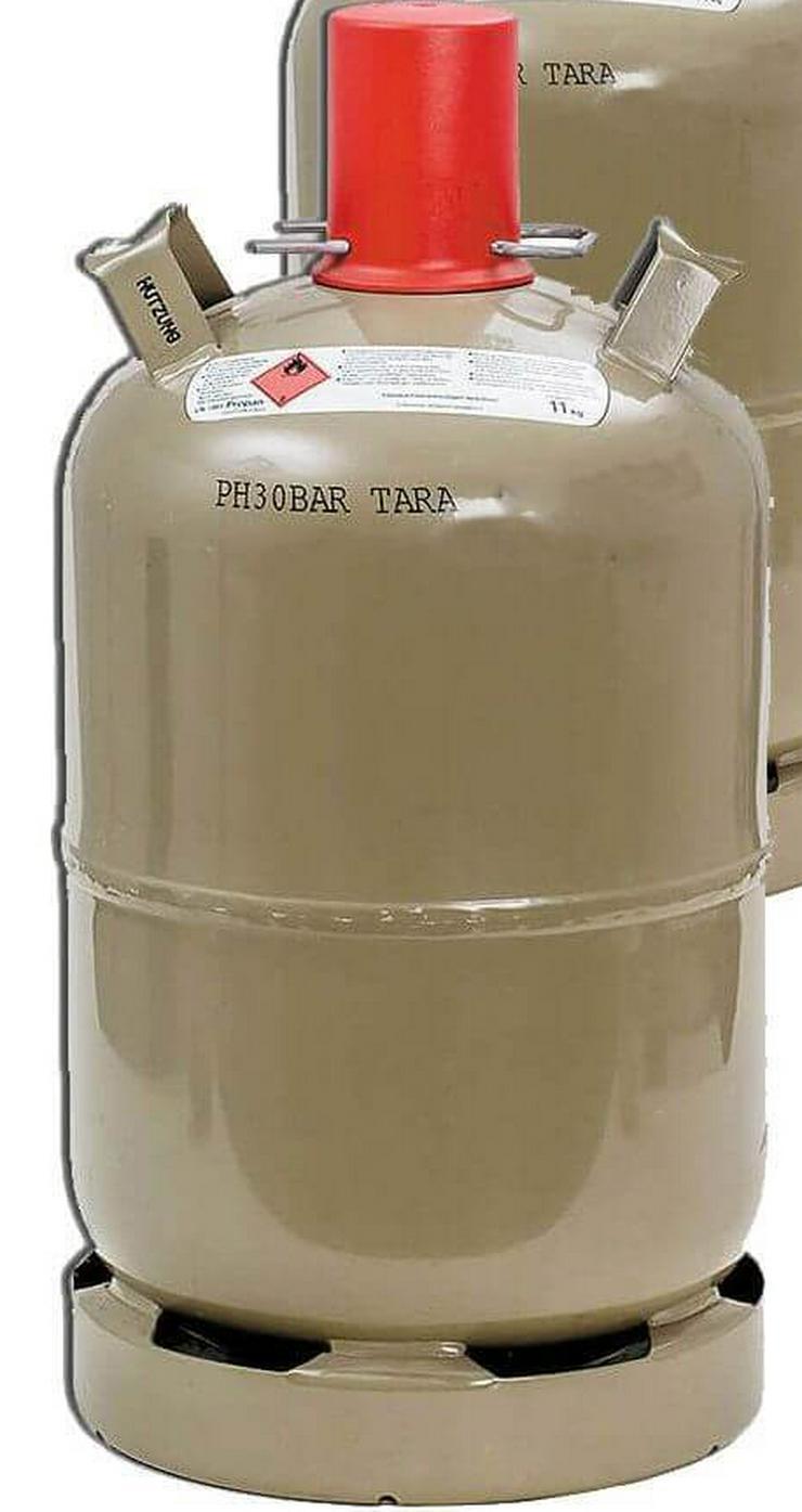 Unbenutzte VOLLE 11kg Propangasflasche