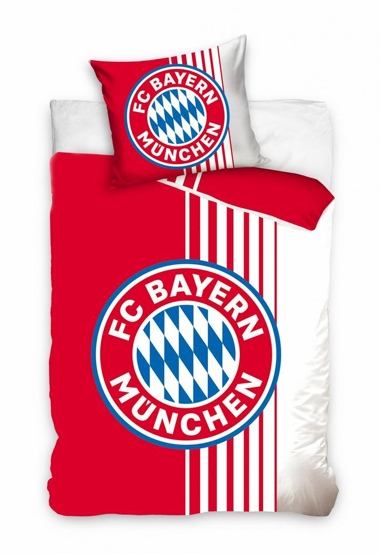 FC Bayern München bettbezug rot/weiß junior 140 x 200 cm