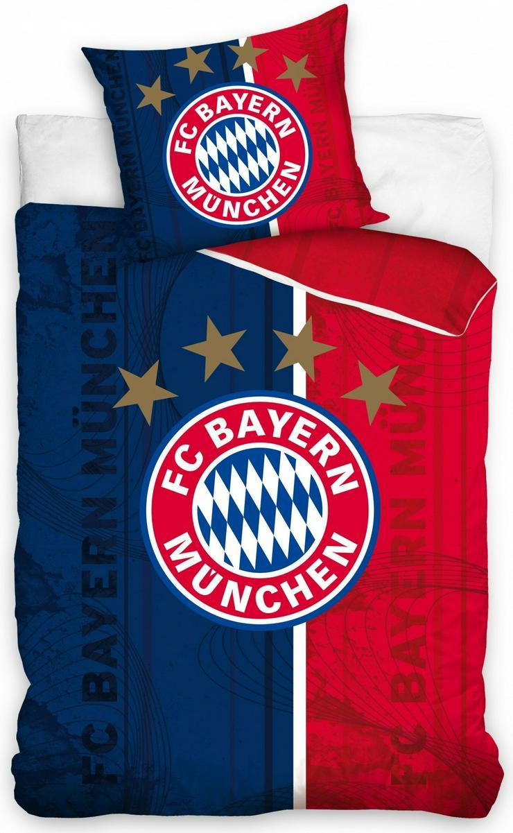 FC Bayern München Bettbezug rot / blau 140 x 200 cm