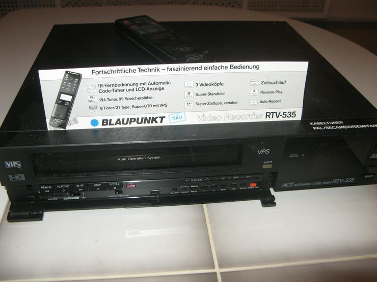 BLAUPUNKT-Video-Recorder RTV-535