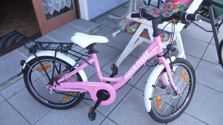 Kinderfahrrd 20 Zoll von Kakhoff rosa 3 Gang Versand möglich - Kinderfahrräder - Bild 1