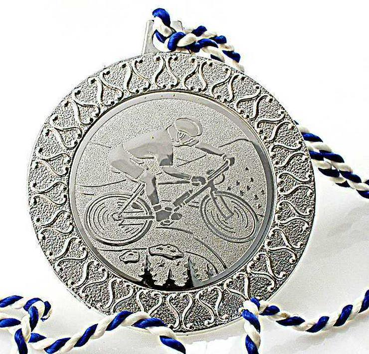 Bild 4: 4x Sport Medaille 3x SILBER-1x GOLD Medaille Skisport+ Rad Sport