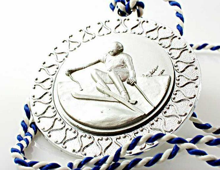 Bild 6: 4x Sport Medaille 3x SILBER-1x GOLD Medaille Skisport+ Rad Sport