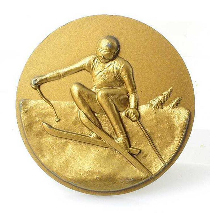 Bild 2: 4x Sport Medaille 3x SILBER-1x GOLD Medaille Skisport+ Rad Sport