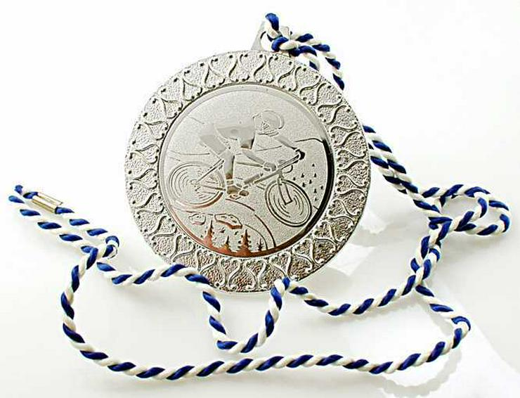 Bild 5: 4x Sport Medaille 3x SILBER-1x GOLD Medaille Skisport+ Rad Sport