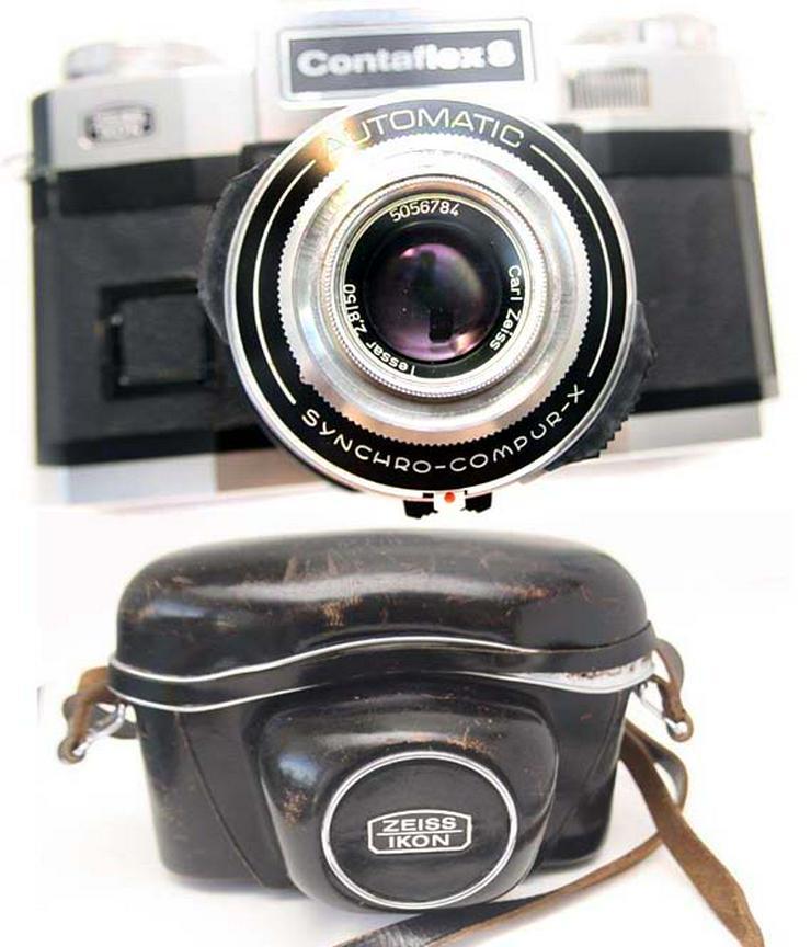 Zeiss Ikon Contaflex S Automatic mit Tasche + Tessar 1:2,8/50mm